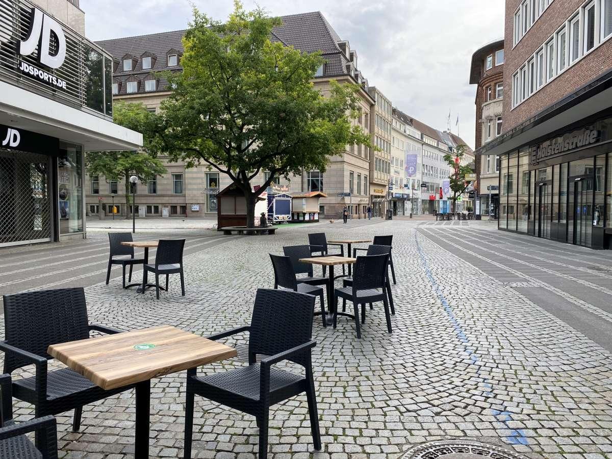 Holstenstraße & Asmus-Bremer-Platz Kiel