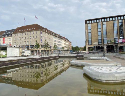 Erstes Teilstück des Holsten-Fleet eröffnet – So sieht es aktuell in der Kieler Innenstadt aus