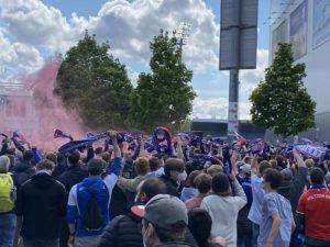Holsteinstadion Kiel - Darmstadt Kieler Fans
