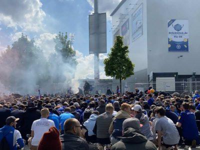 Holstein Kiel - Darmstadt Kieler Holsteinstadion Mai 2021