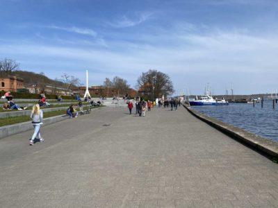 Kiellinie Kiel Promenade