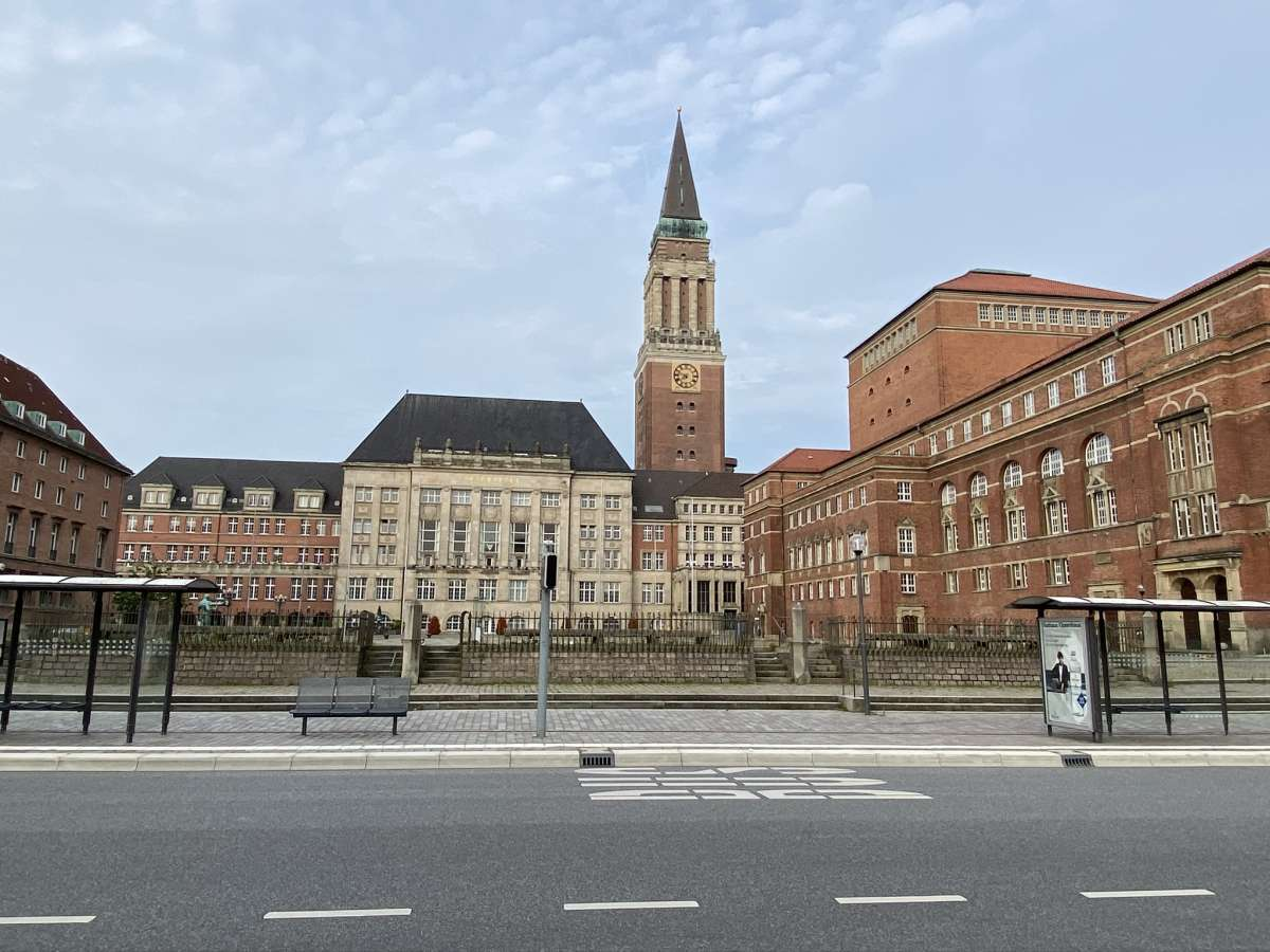 Kiel Rathausplatz & Oper