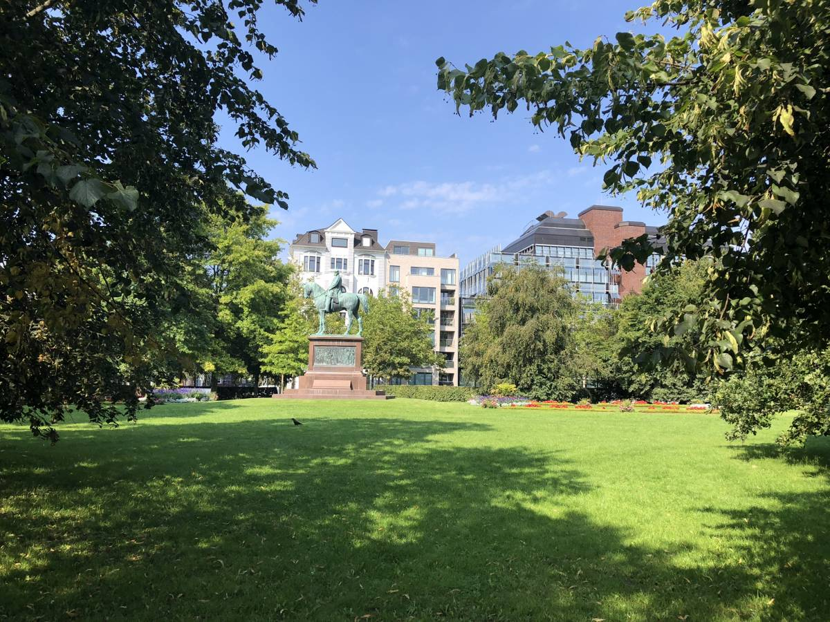 Kaiser-Wilhelm-Denkmal Schlossgarten Kiel
