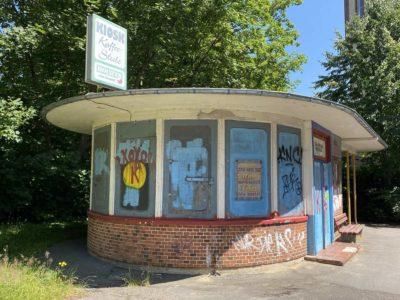 Kiel-Wik Straßenbahn Wartehaus & Kiosk