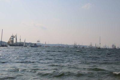 Kieler Förde Windjammerparade 2020 Segelschiffe
