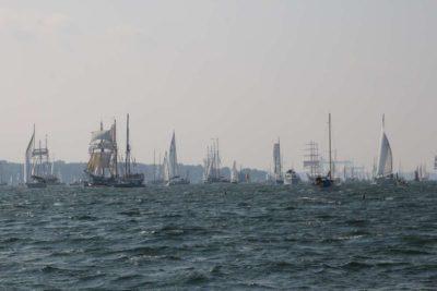 Windjammerparade Kiel am 12. September 2020