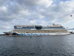 AIDA Cruises AIDAluna Kieler Förde