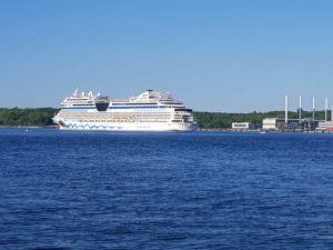 Kieler Förde AIDAsol Kreuzfahrtschiff