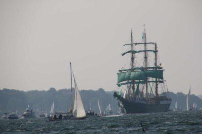 Alexander von Humboldt II Segelschiff Kieler Förde