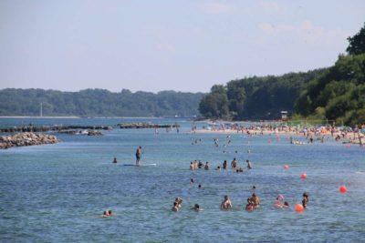 Schilksee Strand Sommerurlaub in Schleswig-Holstein