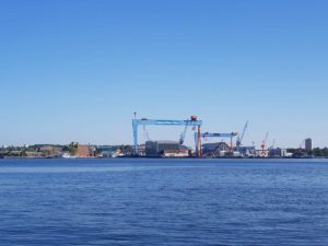 Kieler Förde German Naval Yards Werft Kiel