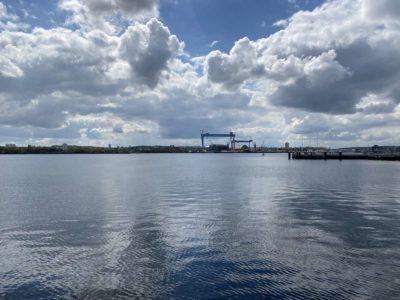 Kieler Förde und TKMS Werft