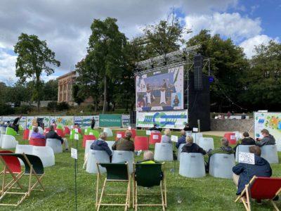 Kieler Woche Eröffnung Live-Übertragung Schlossgarten 05.09.2020