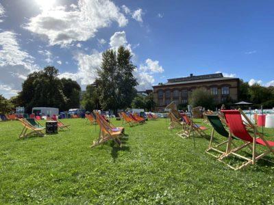 Konzert-Kinöfläche Schlossgarten Kieler Woche 2020