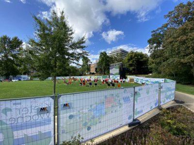 Schlossgarten Erlebnis- und Kinoareal Kieler Woche 2020