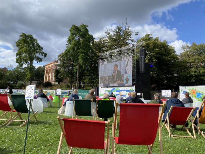 Schlossgarten Übertragung Eröffnung Kieler Woche 2020