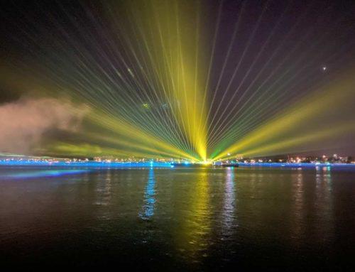 Kieler Woche Feuerwerk 2021 mit Drohnen Show