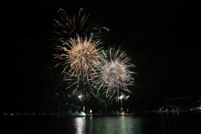 Sternenzauber Kieler Woche 2021 Feuerwerk