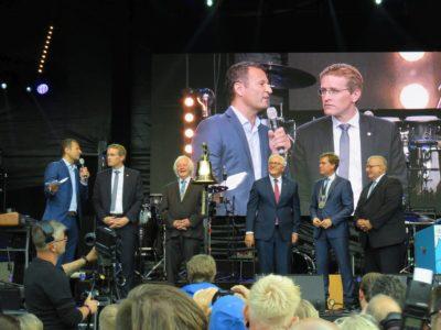 Offizielle Eröffnung der Kieler Woche 2018