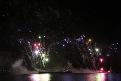 Kieler Woche 2021 Abschlussfeuerwerk 12.09.2021