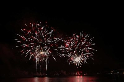 Kieler Woche 2021 Feuerwerk Sternenzauber Kieler Förde