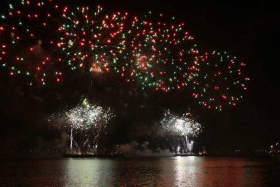 Feuerwerk Kieler Woche 2021 Sternenzauber 12.09.2021