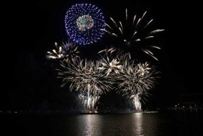 Kieler Woche Feuerwerk 2021 Kieler Förde