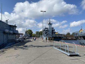 Kieler Woche Open Ship 2021 Tirpitzmole