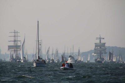 Segelschiffe Kieler Woche Windjammerparade 2020 Kiel