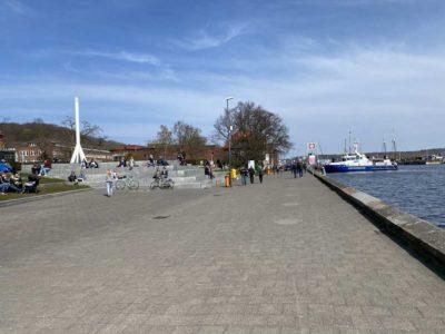Kiellinie Kiel an der Kieler Förde