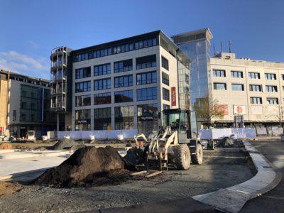 Kleiner Kiel-Kanal Baustelle