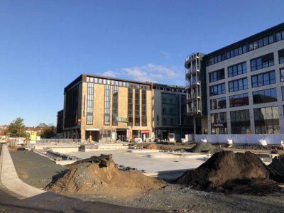 Kieler Innenstadt Baustelle Kleiner Kiel-Kanal