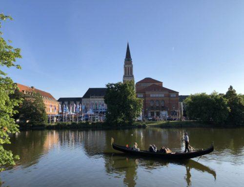 Gondelfahrt auf dem Kleinen Kiel mit Venezianischer Gondel