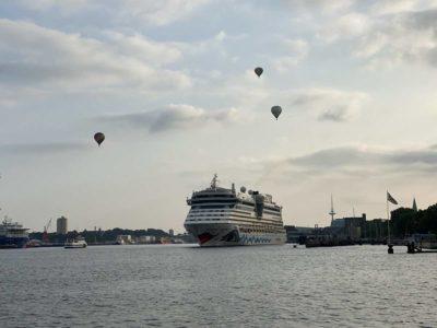 AIDAluna in Kiel AIDA Cruises