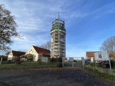 Renovierung Bülker Leuchtturm November 2020