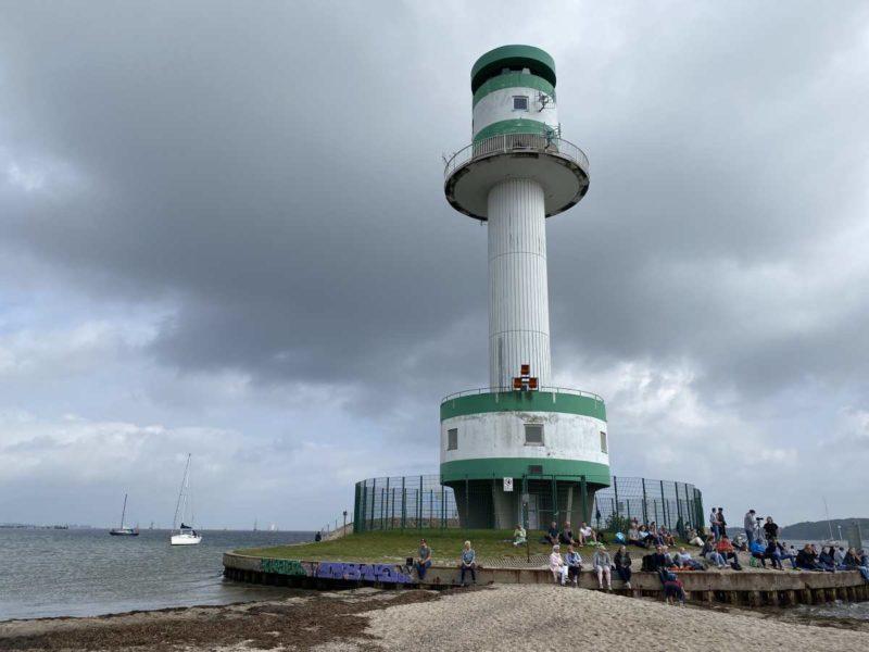 Leuchtturm Friedrichsort Windjammerparade 11.09.2021