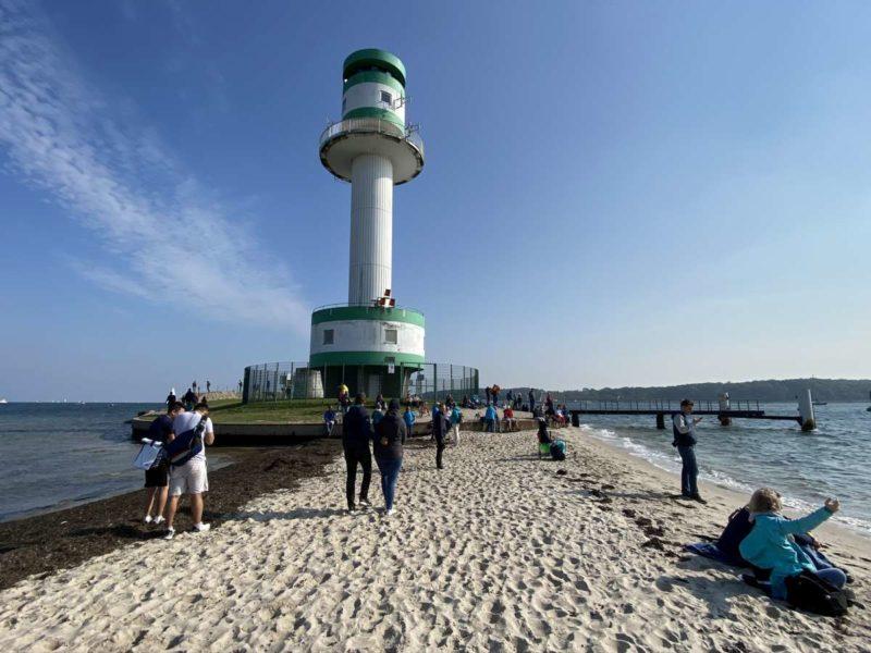 Windjammerparade 2020 Leuchtturm Friedrichsort Zuschauer