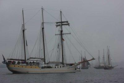 Mare Frisium Segelschiff Kieler Woche Windjammerparade 2013