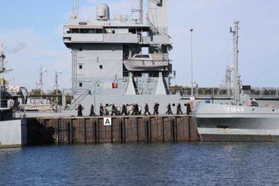 Marinemusikkorps Kiel Gorch Fock Empfang 04.10.2021