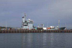 Marinestützpunkt Kiel Empfang Gorch Fock 04.10.2021