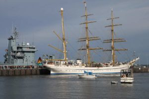 Marinestützpunkt Kiel-Wik Segelschulschiff Gorch Fock