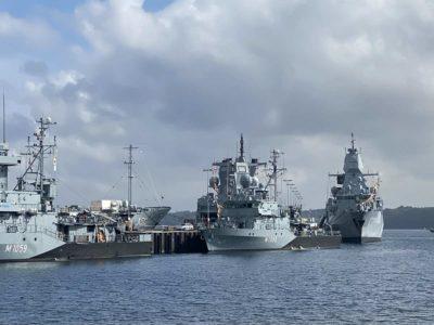 Kieler Woche 2021 Open Ship Marineschiffe