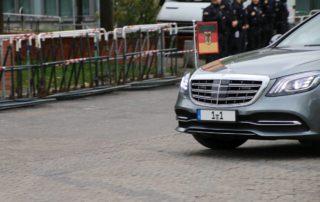 Autokennzeichen 1-1 Bundestagspräsident