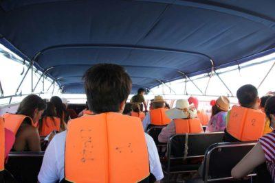 Bootsfahrt mit Nesselkutter Netzgetüdel & Schwimmwesten