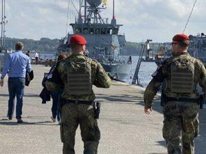 Marinestützpunkt Kiel Militärpolizei MP