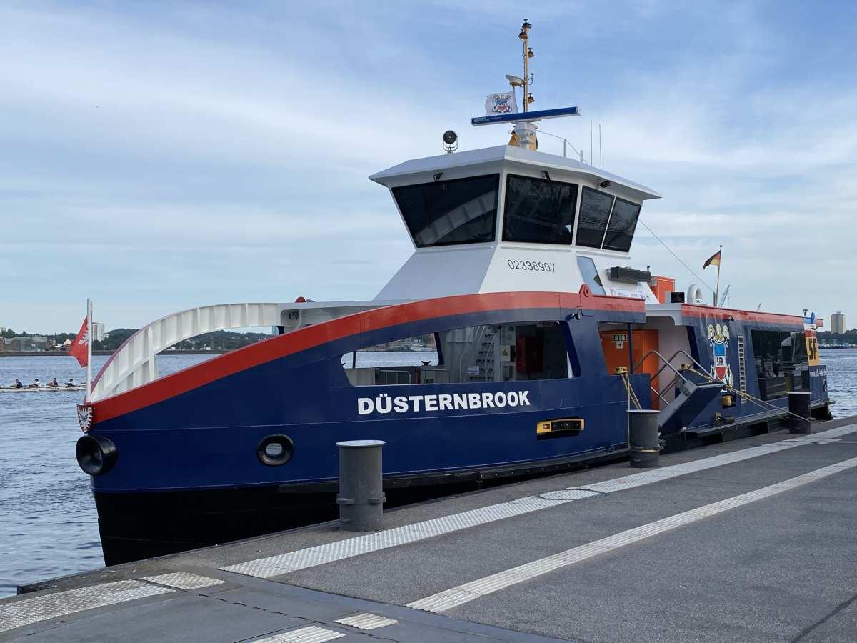 MS Düsternbrook Elektro-Fähre Kieler Förde