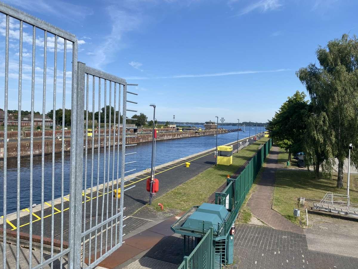 Schleuse Kiel Nord-Ostsee-Kanal