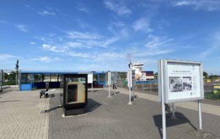 Sehenswürdigkeiten Kiel Nord-Ostsee-Kanal Aussichtsplattform
