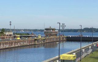 Schleuse Nord-Ostsee-Kanal Kiel Holtenau