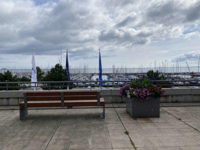 Olympiazentrum Schilksee Blick auf Kieler Förde